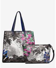 Tasche Damen DESIGUAL bols print 15 merlo V 1000 Blanco U NEU
