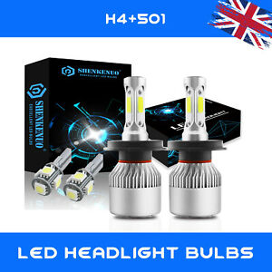 SLIMLINE HID XENON KIT H4 8000K SKODA FABIA 99 ON
