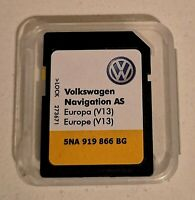 VOLKSWAGEN DISCOVER MEDIA 2 card v13 2021 AS Europe UK 5NA919866BG NEW Genuine!!