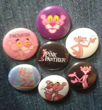 """1"""" pinback buttons inspired  by """"Pink Panther"""""""
