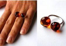 Wunderschöner Ring, Bernsteinring, Silber 925, NEU - UNIKAT -