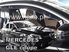 SET 2 DEFLETTORI ARIA  ANTITURBO per MERCEDES GLE Coupé C292 5 port 2016-ad oggi