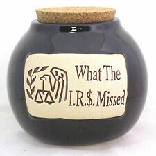 """Money Jar """"What The I.R.S. Missed"""" Tax Law Shelter Deductions Expenses Loophole"""