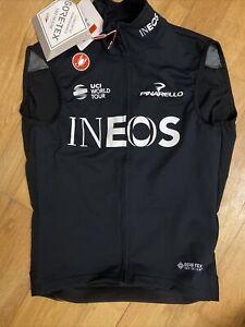Team Ineos Castelli Perfetto ROS Goretex Sleeveless Jersey Pinarello BNWT Gillet