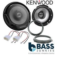 Ford Fiesta MK7 2008 On Kenwood 600 Watts Front Door Car Speakers Upgrade Kit