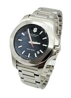 Victorinox Swiss Army Men's 241723.1 Black Dial Stainless Steel Bracelet Watch