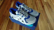 NIB Sz 10 ASICS Tiger Men's GEL-DS Trainer OG Shoes H704Y-020 MID GREY/WHITE