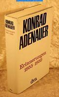 KONRAD ADENAUER-Erinnerungen 1955-1959-DVA 1967