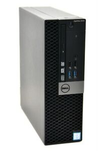 Ordinateur PC DELL Optiplex 3040 i3-6100@3,70GHz/8GB/240Go SDD NEUF/Win10 Grd A+