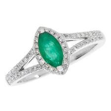 Anelli di lusso smeraldo marquise