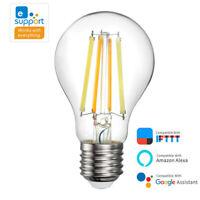 Ewelink Smart LED Filament Bulb Voice Control Light for Alexa Google Home IFTTT