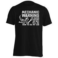 Mechanic warining to avoid injury Men's T-Shirt/Tank Top hh426m