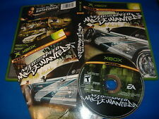 Need for Speed Most Wanted XBox video game COMPLETE nfs US usa english region 1
