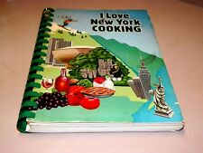 Cook Book I Love New York Cooking,  PB w/spiral spine, recipes