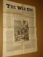1883 Salvation Army War Cry Newspaper June 14