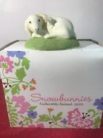 Dept 56 Snowbunnies COLLECTIBLE GOAT 2012  Easter Limited 2012 4024872 LAYING