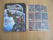 MASTER SET - Transformers Dark of the Moon Enterplay/Hasbro (2011) trading cards