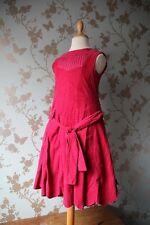SALE Jottum dress/robe/Kleid pink sz 116-122 / 6-7 yrs winter autum slim dress
