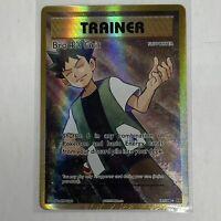 Brock's Grit - 107/108 - Full Art Ultra Rare NM-Mint Pokemon XY - Evolutions TCG