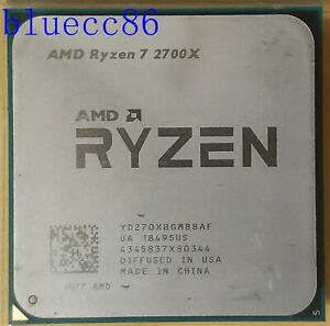 AMD Ryzen 7 2700X 3.7 GHz 8-Core Socket AM4 CPU Processor