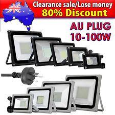 AU Plug 10W-100W Flood Light SMD LED Outdoor Lamp Spotlight AC 220V-240V IP65