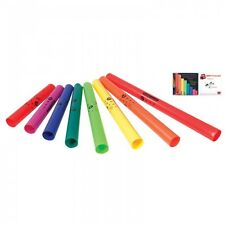 Boomwhackers Power Pack Tubes (Set of 8 Tubes = 2 Octavator Caps) + CD and DVD