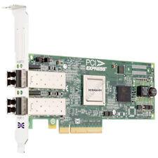LOW PROFILE Emulex LPe12002 Dual-Port 2x 8 Gbps FC SFP+ PCIe x8 2.0