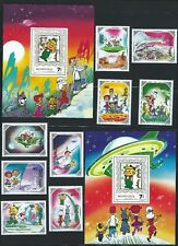 MONGOLIA Sc 1923-33 Ss Jetsons  George, Jane, Elroy, Astro, Mr. Spacely