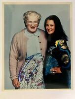 Robin Williams/  Mrs. Doubtfire Signed 8 x 10 Photo Hand Signed  w/COA