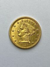 1857 $2.5 Liberty Gold Coin.! Uncertified.!
