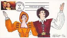1999 BOB KNAPP CACHET 14/32 ALFRED LUNT & LYNN FONTANNE FIRST DAY COVER FDC