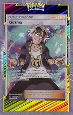 Guzma Full Art-SL3:Ombres Ardentes-143/147-Carte Pokemon Neuve Française