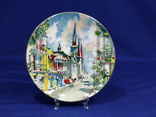 Royal Doulton French Quarter New Orleans Dong Kingman Collector Plate #5413