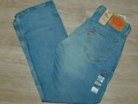LEVIS 569 Loose Straight Jeans Stretch Midrise Gail Wind Lt Blue Wash Pick Size