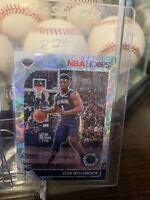 2019-20 Hoops Premium Stock Zion Williamson Silver Scope Prizm RC SP #258 Mint