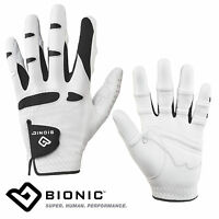 BIONIC LADIES ORTHOPAEDIC STABLE GRIP CABRETTA LEATHER GOLF GLOVE