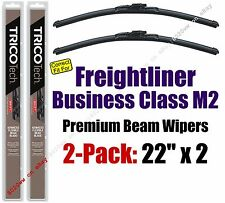 Wipers 2-Pack Premium - fit 2004-2012 Freightliner Business Class M2 - 19220x2