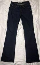 J Brand Curvy Fit Dark Blue Ink Wash Stretch Boot Leg Jeans  28X34