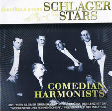 "COMEDIAN HARMONISTS ""Schlager & Stars"" 26 Tracks CD NEU & OVP Electrola EMI 2008"