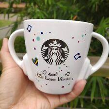 New China 2019 Starbucks Colorful Summer Earphone Tea Strainer 12oz Mug