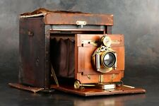 ":Kodak No. 5 Improved 5x7 Large Format ""Satchel"" Folding Camera [RARE]"