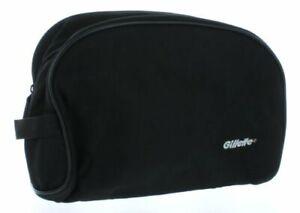 Black Gillette Men's Travel Bag Toiletry Shave Case Dopp Kit