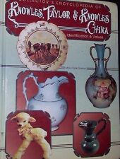 VINTAGE KNOWLES CHINA PRICE GUIDE COLLECTOR'S BOOK HARDBACK COLOR PHOTOS