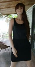 Oxford Woman Dress 10 Black  Leather Bust Body Con Sleeveless NEW RRP$259