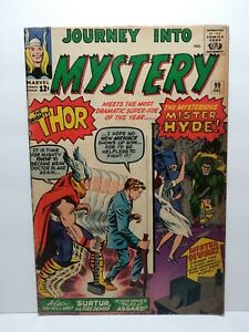 Journey into Mystery #99 1963 1st appearance. Mr. Hyde Silver Age Key Thor Kirby