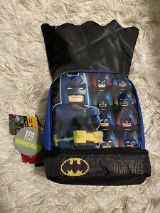 Batman Dual Compartment Lunch Bag