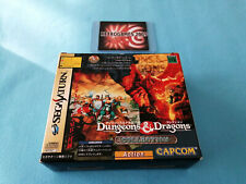 DUNGEONS AND DRAGONS COLLECTION KIT PACK 4 MEG  SEGA SATURN REG CARD