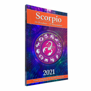 Your Horoscope 2021 Book Scorpio 15 Month Forecast- Zodiac Sign, Future Reading