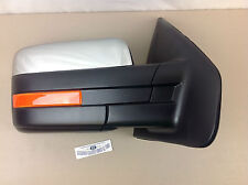 09-10 Ford F150 RH Passenger Side Chrome Power Fold/Signal/Heated Mirror new OEM