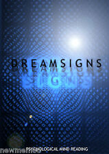 Dreamsigns Psychological Mind Reading Magic tricks Mentalism professional dynamo